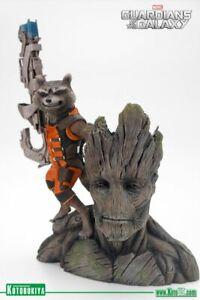 Kotobukiya Rocket Raccoon & Groot ARTFX+ 1/10 Model Kit*NEW*RARE*GREAT PRICE!!*
