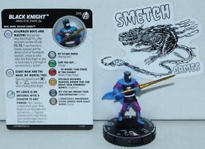 CAAV 046 Black Knight Rare Figure Marvel Heroclix Captain America & Avengers