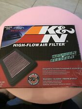 K&N Replacement Air Filter 2010-2014 Ford Mustang 3.7L 4.6L 5.0L BOSS GT 33-2431
