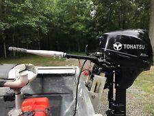 "12"" outboard tiller handle extension aluminum skiff"