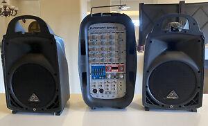 Behringer Europort EPA300 6-Channel 300-Watt Portable PA System
