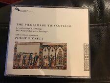 The Pilgrimage To Santiago. Philip Pickett, New London Consort. Decca. 2 CDs vgc