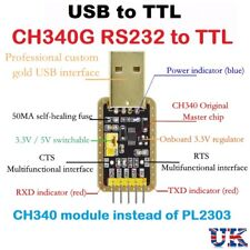 USB To RS232 TTL CH340G Converter Module 5v 3.3v Serial Port Module PL2303 UK