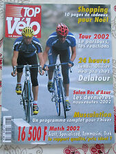 TOP VELO N°57: DECEMBRE 2001: TOUR 2002 - SCOTT - SPECIALIZED - TREK - TOMMASINI