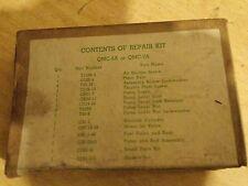 1 - NOS WW2 G508 CCKW, CCW, G501 DUKW Die Cast Zenith Carburetor Repair Kit