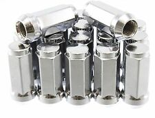 "32pcs Solid Chrome Lug Nuts | 2"" XL Tall 