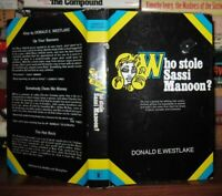 Westlake, Donald E.  WHO STOLE SASSI MANOON?   1st Edition 1st Printing