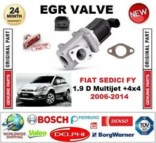 FOR FIAT SEDICI FY 1.9 D Multijet +4x4 2006-2014 EGR VALVE 2-PIN with GASKET