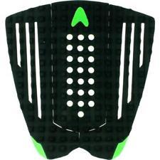Astrodeck Grip Gudauska 3 Peice Surfboard Grip In Black/Green From Astodeck