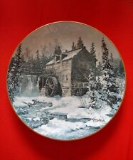 KEIRSTEAD ROYAL GRAFTON CHINA PLATE DISCOVER CANADA SAWMILL KINGS LANDING