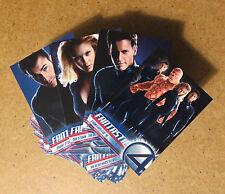 FANTASTIC 4 THE MOVIE Base Trading CARD SET Chris Evans Jessica Alba UPPER DECK