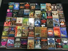 Lot Of 50 Science Fiction Fantasy Sci-Fi Vintage Paperback Novels