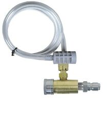 Pressure Washer Adjustiable Chemical Injector W/Tip Ships World Wide
