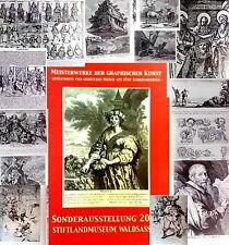 Meisterwerke,Alte Meister,GRAFIK,KUNST,ZEICHNEN,Unveröffentlichtes,5 Jhdte,NEU