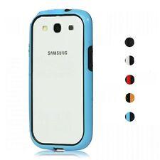 Pellicola + Custodia Bumper Cover Case per Samsung I9300 I9301I Galaxy S3 NEO