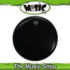 "New Remo 20"" Ebony Ambassador Bass Drum Skin - 20 Inch Drum Head - ES-1020-00"