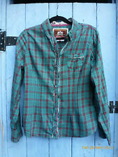 Next  Check Shirt 14Green/Pink Beautifully MadeLoads of Detail Excellent Quality
