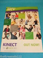 MCV MAGAZINE - KINNECT FOR XBOX - NOV 12 2010