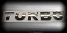 1 - NEW vw audi 1.8T 2.0T volkswagen jetta gli rear chrome badge emblem (TURBO)
