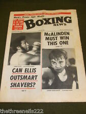 BOXING NEWS - JIMMY ELLIS - DANNY McALINDEN - JUNE 15 1973