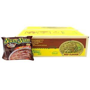 30x60g Yum Yum Instantnudel Rind Geschmack Instant Nudelsuppe Yum Yum Beef Flavo