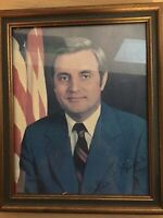 Walter Mondale Vice President Signed Photo