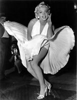 Marylin Monroe - Famous Iconic Actress Wall Art Large Poster / Canvas Pictures