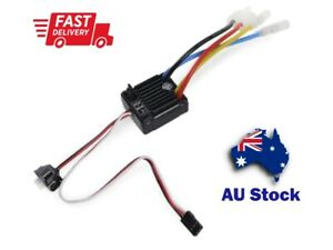 Waterproof 60A Brushed ESC 1060 Black Edition for 1/10 RC