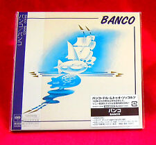 BANCO BANCO JAPAN AUTHENTIC MINI LP CD NEW OUT OF PRINT RARE MHCP-1318