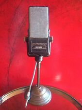 """Vintage RARE 1940's Electro Voice V-2 """"Velocity"""" Ribbon microphone w stand"""