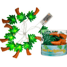 PALM TREE 10 LED GARLAND FAIRY LIGHT STRING DECOR BEDROOM INDOOR PARTY BATTERY