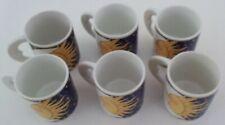 6 Vitromaster GALAXY Mugs Cups Moon Sun Eclipse Celestial Astrology Stars Solar