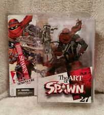 SPAWN SERIES 27 ART OF SPAWN: SPAWN ISSUE 131 COVER ART ACTION FIGURE MCFARLANE