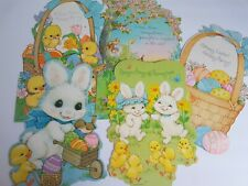 Easter Decorations Wall Cut Outs Hallmark and Other Vintage