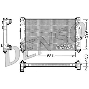 DENSO Radiator - DRM02030 - Engine Cooling Part - Genuine DENSO OE Part