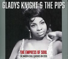 GLADYS KNIGHT & THE PIPS THE EMPRESS OF SOUL - 2 CD BOX SET - OPERATOR & MORE