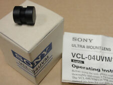 """Sony VCL-04UVM 4mm ultra mount lens for 1/4"""" CCD camera DXC-LS1 1:1.4"""
