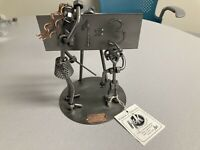 School Teacher Nuts & Bolts Figurine H&K Steel Sculptures Art - Great Gift Item