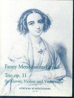 Fanny Mendelssohn-Hensel - Trio Op. 11 für Klavier, Violine und Violoncello