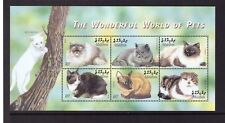 Maldives MNH 2002 Cats,Pets,Animals sheet mint stamps