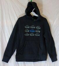 Boys Mountain Warehouse Dusky Black Truck Hooded Sweater Hoodie Age 9-10 Years