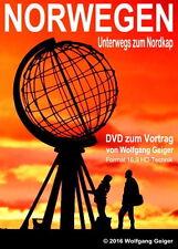 """DVD""""NORWEGEN-Unterwegs zum Nordkap""""Wohnmobilreise im Land der Mitternachtssonne!"""