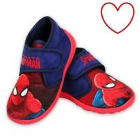 Boys Comics Marvel Spiderman Slippers UK Sizes 7-11