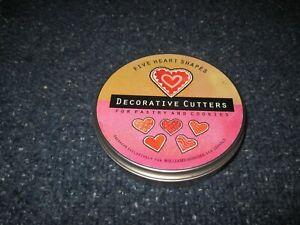 HEART SHAPE 5 Piece Steel Cookie Cutter Set - WILLIAMS SONOMA