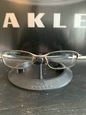 Oakley Chop Top 4.0 Eyeglasses Frame | Ti Blacklight with Silve Icon | Free S&H