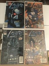 LOBO 1-4 NEWSSTAND LOT 1991 RARE NM READY FOR CGC NEVER READ CLEAN HOT KEY