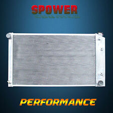 3 ROW 56MM  Aluminum Radiator For Chevy Chevrolet Camaro GMC AT MT 5.0 5.7 70-81