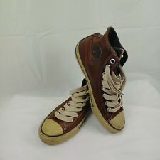 Converse Chuck Taylor All Star Shoe MidTop Leather Pine Cone 10 115714