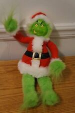 Stuffed Plush The Grinch Who Stole Christmas Santa Grinch Toy