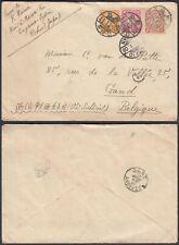 Japan 1909 - Cover to Gand-Belgium from Tokio. .(Dd) Mv-4746